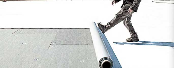 Impermeabilización láminas PVC